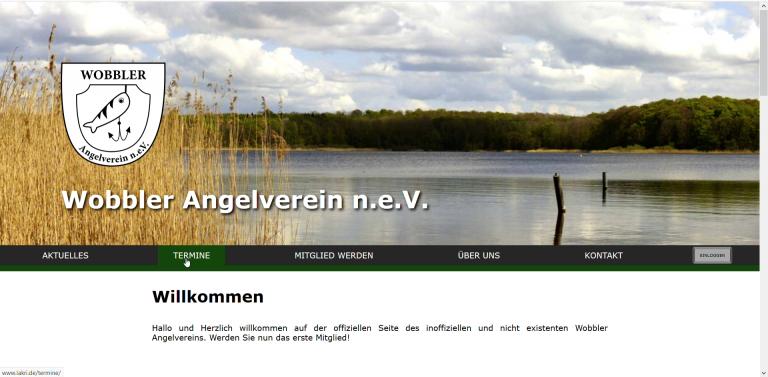 Website Fishing Community